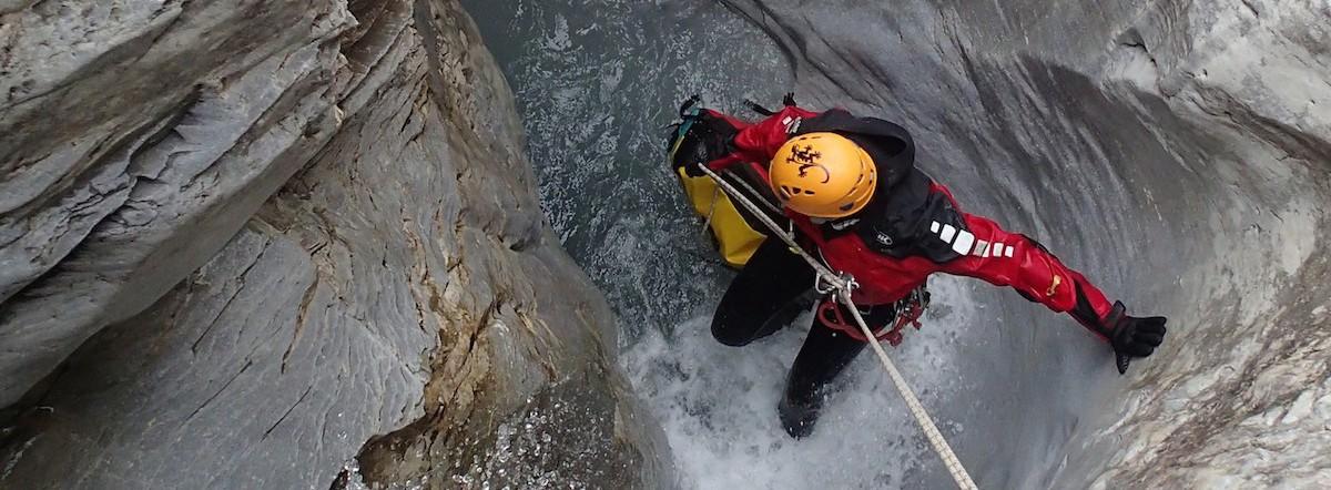 Canyoning dans les Alpes Suisses